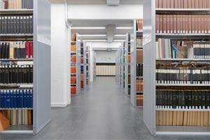Mauser Bibliothek Regale