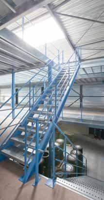 Treppe Stahlbühne